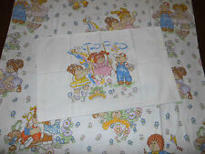 Cabbage Patch Kids Bettwäsche 80er 1983 Stoff vintage bedding fabric 80s sheet