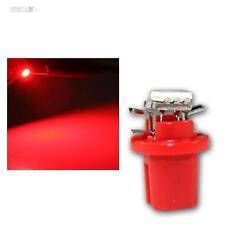 10 x LED B8.5D BAX10d T5 Birne rot Tachobeleuchtung Instrumentenbeleuchtung SMD