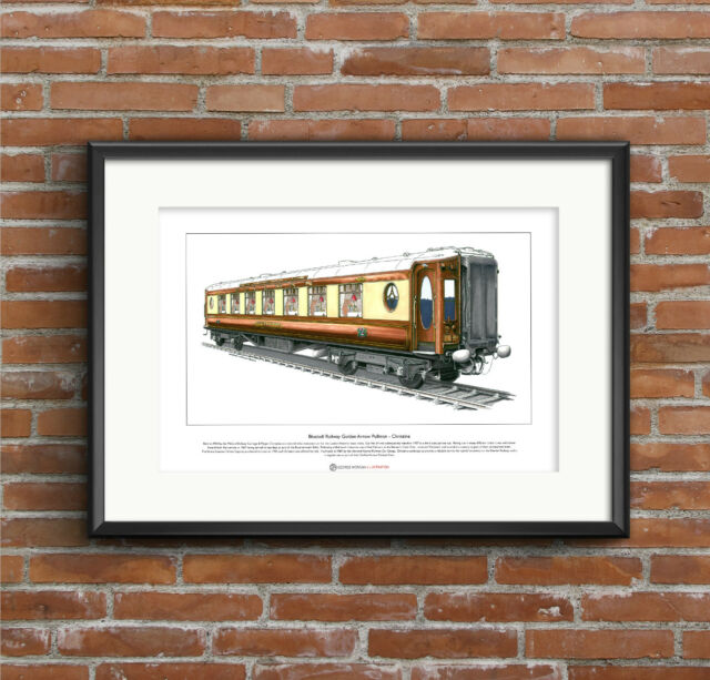 Golden Arrow Pullman - Christine Limited Edition Fine Art Print A3