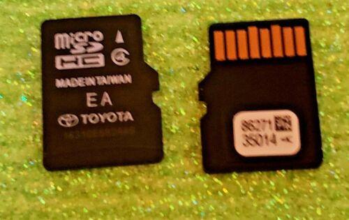2017 Toyota update  2015 16 17 18 Navigation Micro SD Map  86271 35014A  35014 a