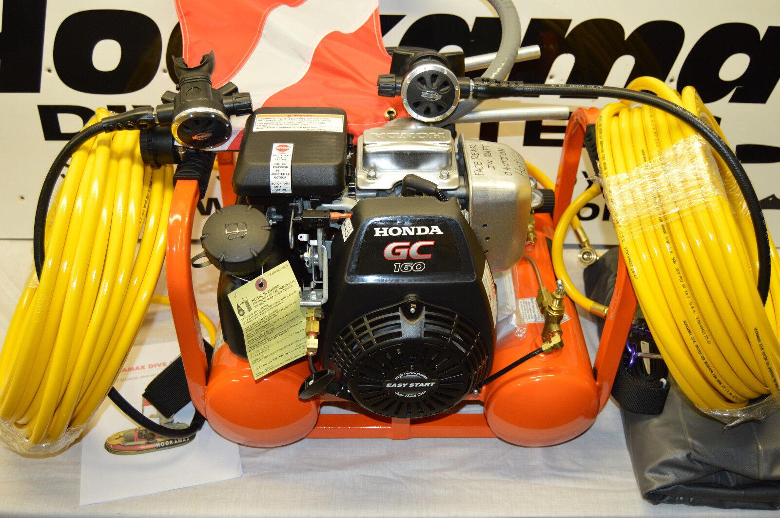 Hookamax hookah diving complete two diver gasoline petrol diving system