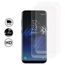 """2x Films Protection Écran Verre Trempé Bord Incurvé pour Samsung Galaxy S8 5.8"""""""