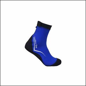 Diving-Snorkel-lycra-Sock-Water-Sport-Scuba-equipment-snorkeling-blue-so105ak