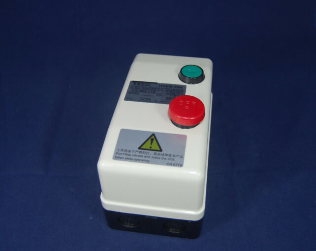 HUEB-11K AC 220V Coil 8.5-12.5A 3 Phase Control Motor Magnetic Starter