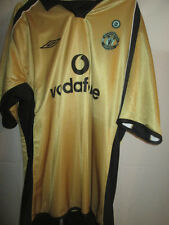 Manchester United 2001-2002 Beckham Away Football Shirt XL /15448