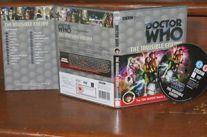 Doctor Who - The Invisible Enemy (Sonderausgabe) Dr Who is Tom Baker BBC TV R2