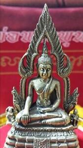 Phra-Phut-Chinarat-Thai-Buddha-Amulet-With-Stand