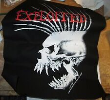 EXPLOITED COLLECTABLE RARE VINTAGE BACKPATCH BACK PATCH 2005 ORIGINAL
