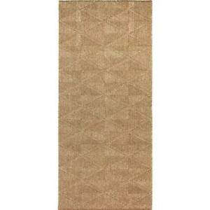 Hallway-Runner-Carpet-Rug-Chestnut-Cream-67cm-Wide-Rubber-Backed-Polar-702