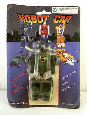 Al-es Machine Robo Bandai Ko Mr-28 Jeeper Creeper Robo Car Military Jeep