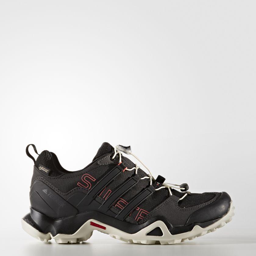 Adidas Terrex Swift R GTX Black   Tactile Pink Women's Hiking shoes  size 8.5M