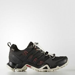 2344ae639add4 Adidas Terrex Swift R GTX Black   Tactile Pink Women s Hiking Shoes ...