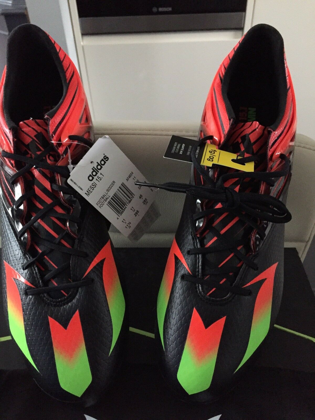 Adidas MESSI 15.1 FG Football Boots, Adult Size 11