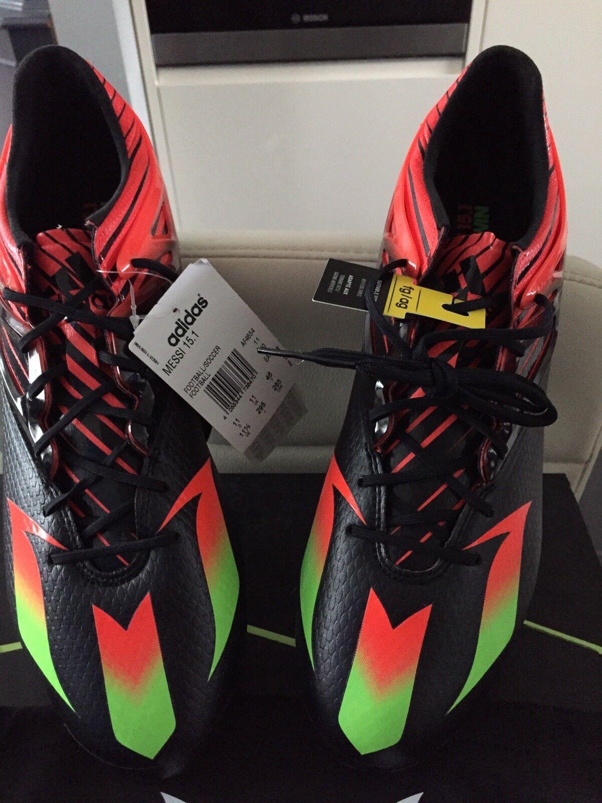 ADIDAS Messi 15.1 FG Scarpe da calcio, misura adulto 11