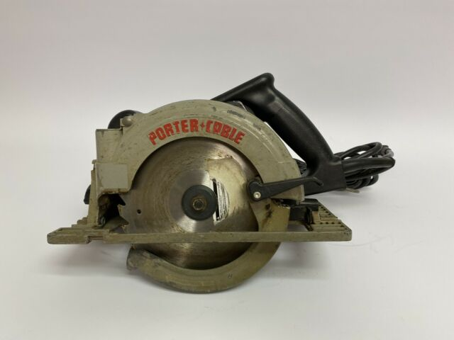 Porter Cable 843 7 1 4 Left Hand Circular Saw With Brake Incl Case For Sale Online Ebay