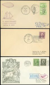 1933-34-LOT-3-Different-USS-AKRON-DISASTER-Memorial-In-Memoriam-Covers-SCV-25