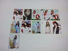 SNSD K-POP [Yuri Star Collection Card] Photocard set Girls' generation Idol 11p