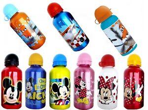 Disney-bouteille-a-boisson-MICKEY-Micky-Minnie-Planes-500-ml-aluminium