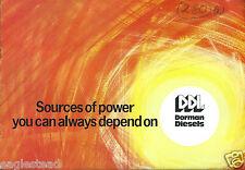 Equipment Brochure Dorman Diesel Engine For Construction Industry E2674