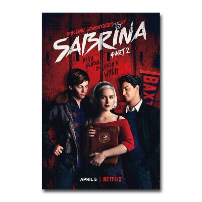 Chilling Adventures of Sabrina Part 2 TV Series Art Canvas Silk Poster Print