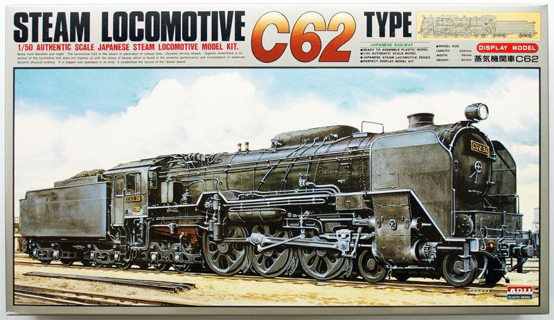 Arii 356029 Japanese Steam Locomotive Type C62 1 50 scale kit (Microace)