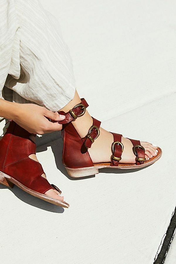Free People Ludlow Leather Leather Leather avvio Sandals ☮ Dimensione 37 e90f0e