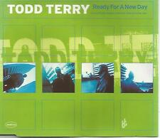 Todd Terry Featuring Martha Wash - Ready For A New Day CD Single