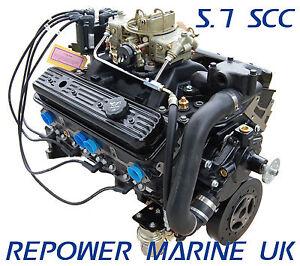 New 5.7L V8, Repower Mercruiser, Volvo Penta, OMC, Crusader, Marine