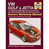 HAYNES SERVICE & REPAIR MANUAL VW Golf & Jetta Petrol & Diesel 04 - Sep 08 4610