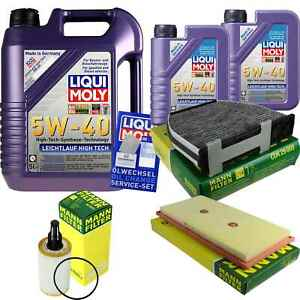 Inspection-Kit-Filter-LIQUI-MOLY-Oil-7L-5W-40-For-CLS-C218-S-L