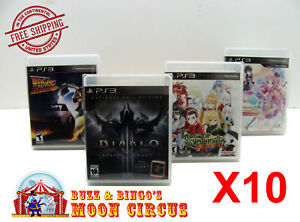 10x-SONY-PS3-CIB-GAME-CLEAR-PLASTIC-PROTECTIVE-BOX-PROTECTOR-SLEEVE-CASE