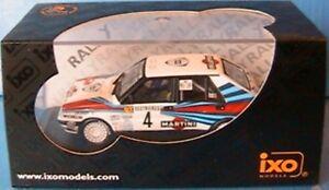 Lancia Delta Hf Integrale Vainqueur du Rallye Monte-Carlo 1989 Biasion Ixo Scr002 1/43