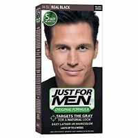 2 Pack - Just For Men Hair Color H-55 Real Black 1 Each on sale
