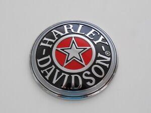 Harley Davidson CLOISONNÉ Tankdeckel Tankdeckelmedallion schwarz 99537-96A