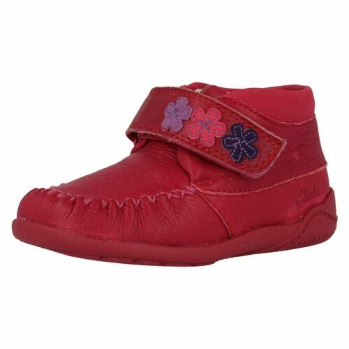 Filles Clarks Premières Chaussures Litzy Fleur