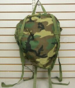 US Military MOLLE II Main Pack Backpack Rucksack Woodland Camo USGI PLEASE READ