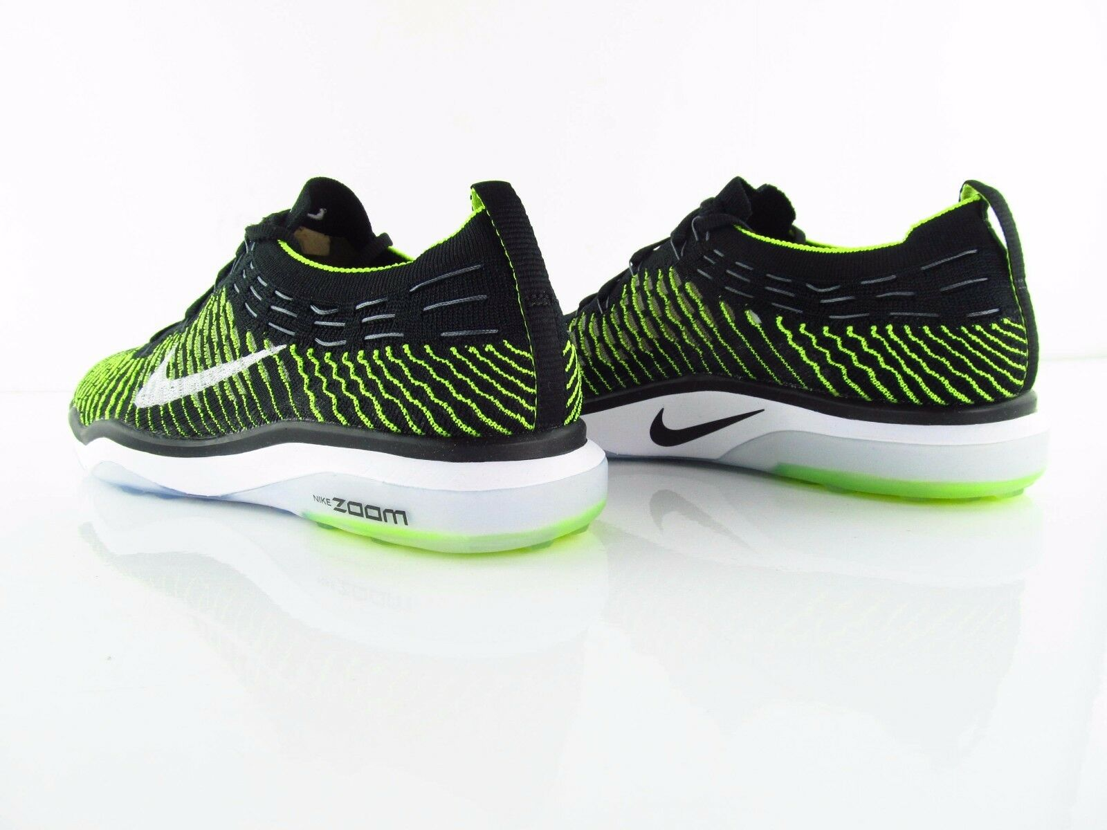 NIKE Air Zoom Fearless Fearless Fearless Flyknit Training Volt nero bianca us_8.5 EUR 40 30fd97