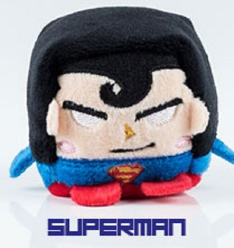 "DC Comics  Wish Factory Kawaii Cubes Series 1 Superman 2/"" Plush Figure"