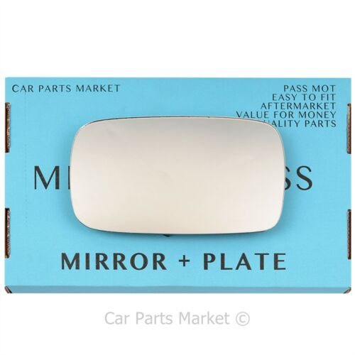 plate Right Driver side Wing door mirror glass for Volvo v50 2004-2006