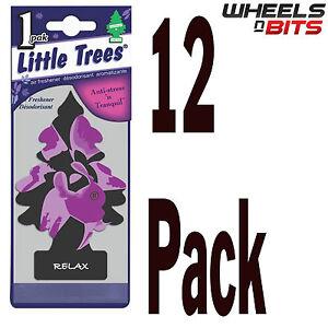 12x relax scent magic little tree trees car van bus home air rh ebay com School Bus Vans Cars
