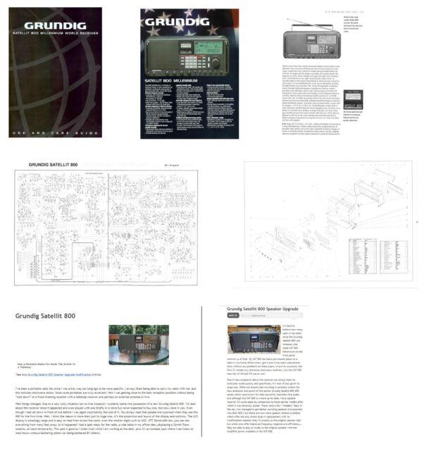 Eton Grundig Executive Satellit Manual Guide