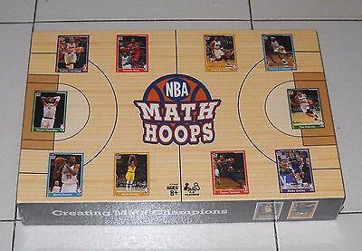 NBA MATH HOOPS – Hasbro 2014 Creating math Champions Basket Pallacanetro NUOVO