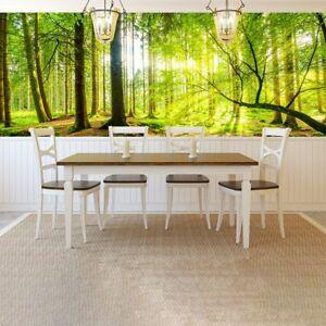 Grüner Baum Panorama Fototapete Wald Wald Tapete Wohnzimmer Dekor   eBay