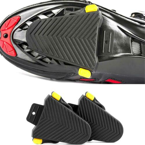1 Pair Bike Cycling Cleat Covers For SPD-SL Pedal Systems Protect Fitting