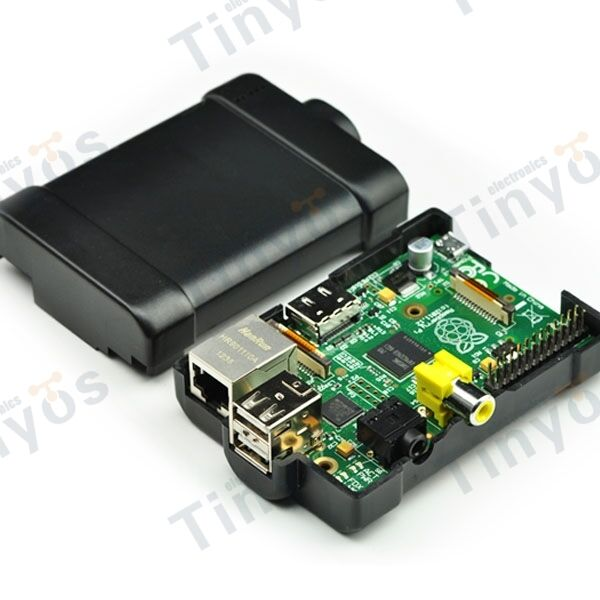 Model B 512MB Version Raspberry Pi 2.0 Board With Black Injection Molding Box