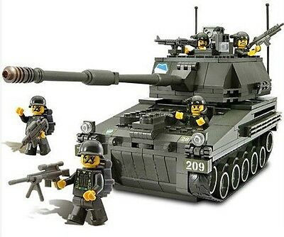 OM3301 MILITARY TANK OXFORD Building Block 359 Piece LEGO Style Made in Korea