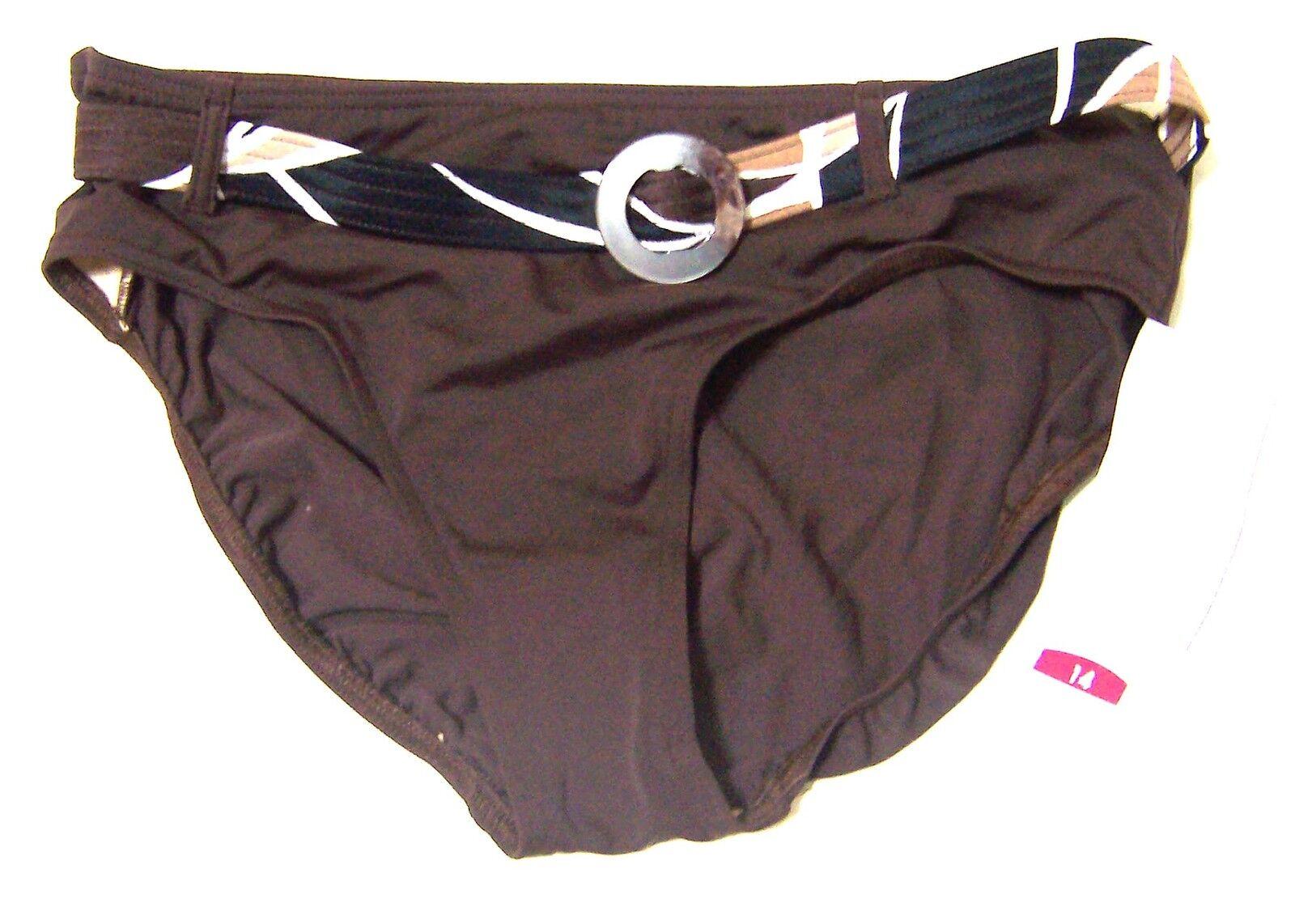 Body ID 3-pc Bikini Swimsuit w Pareo Pareo Pareo NWT Sz 10D 14 d5f48d