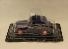 Russian Models,CX 4244  Russian Police Car With Siren Blue 1/43 Scale New in Box