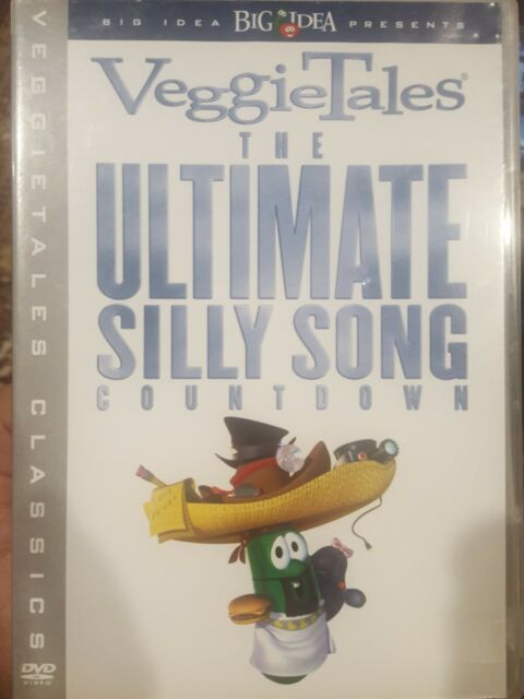 VEGGIETALES THE ULTIMATE SILLY SONG COUNTDOWN RARE DVD ANIMATION BIBLE CARTOON