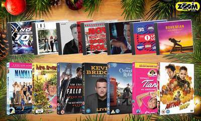DVDs & CDs this Christmas